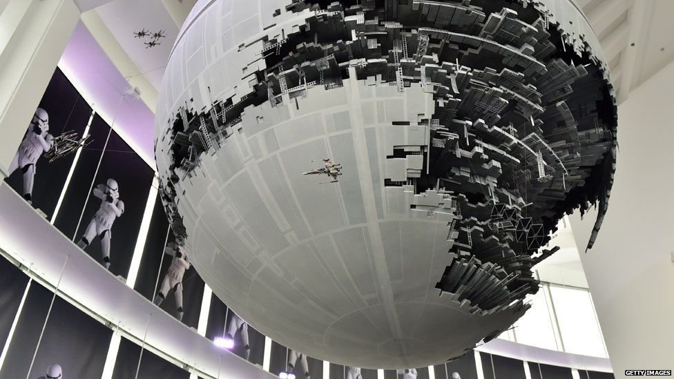 Model of the Death Star