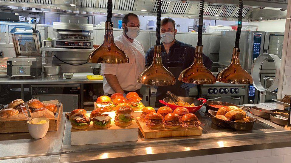 The canteen at Havas London