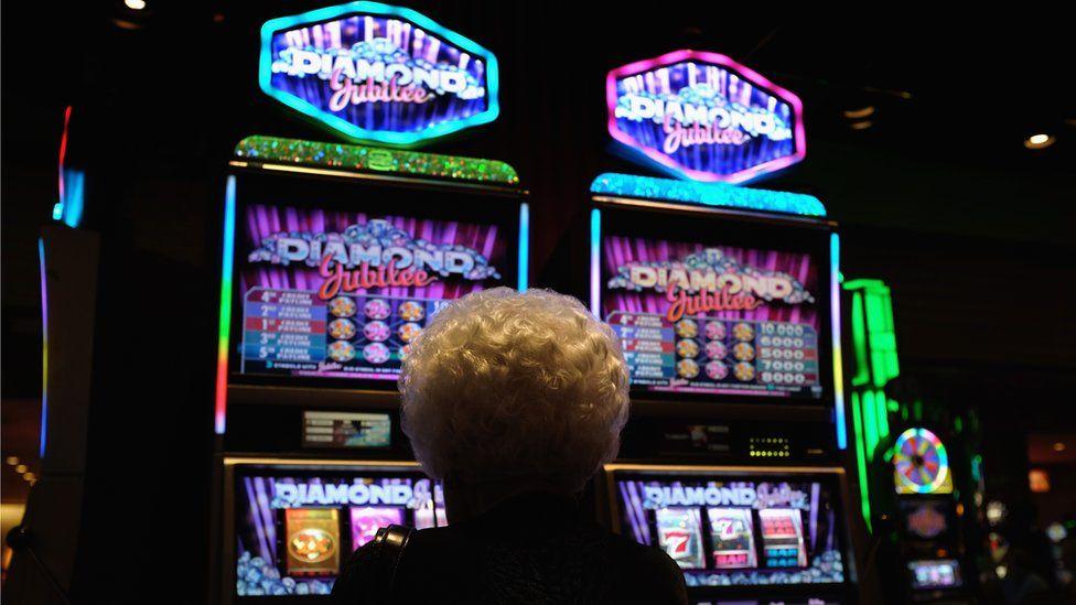 Woman gambler (file photo)