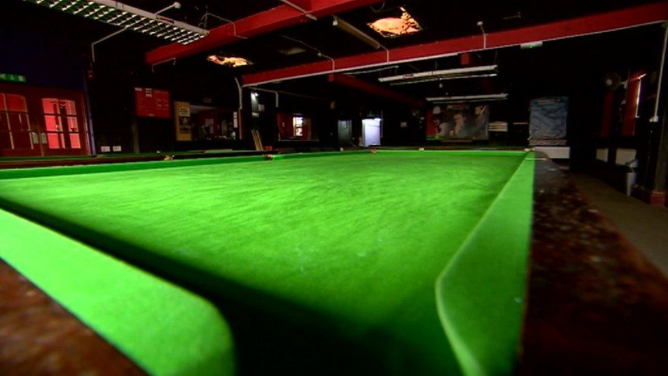 The snooker club
