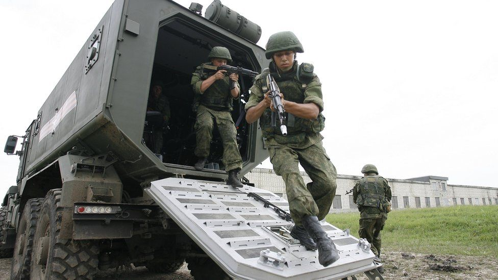 Russian special forces training, 10 Jul 15