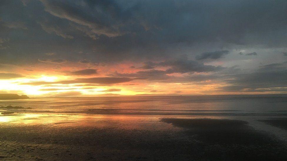 Cullen sunset