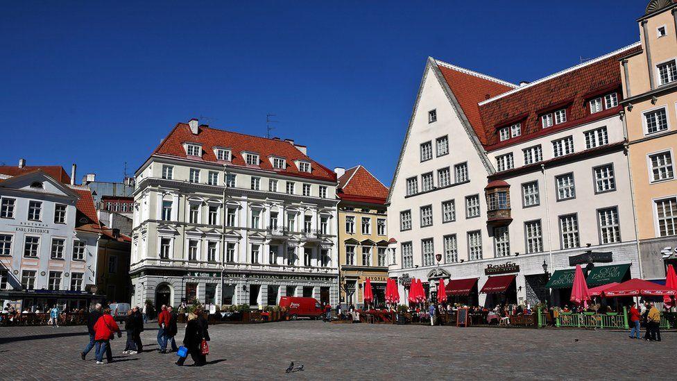 The old city in Tallinn
