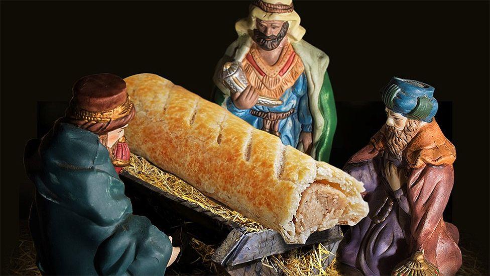 Greggs nativity