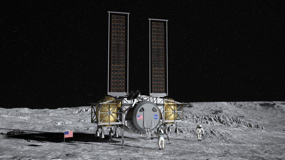 Dynetics lander artwork