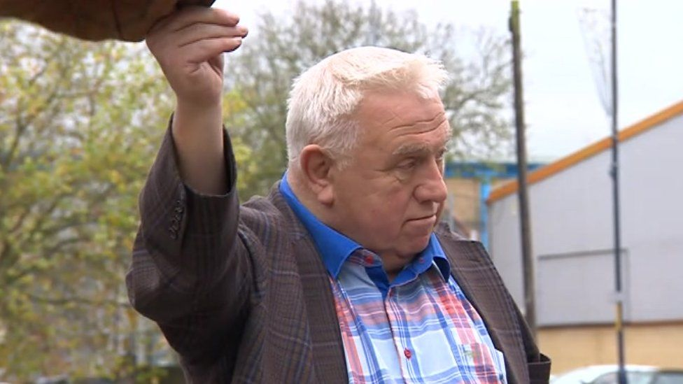 Fergus Wilson after the hearing