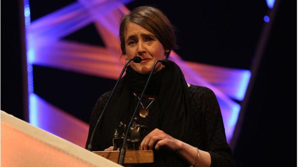 Folk Singer of the Year was awarded to Scottish singer-songwriter and musician, Karine Polwart