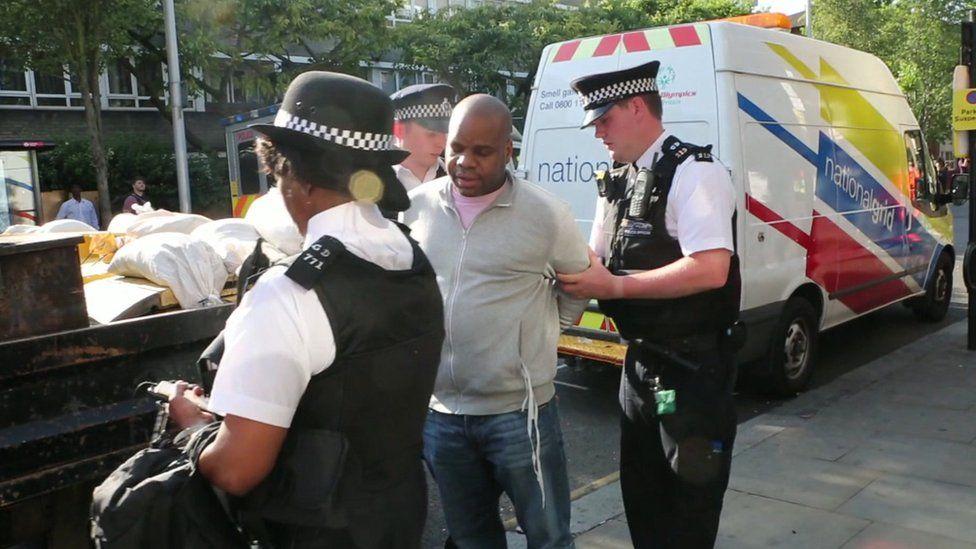 Omega's arrest