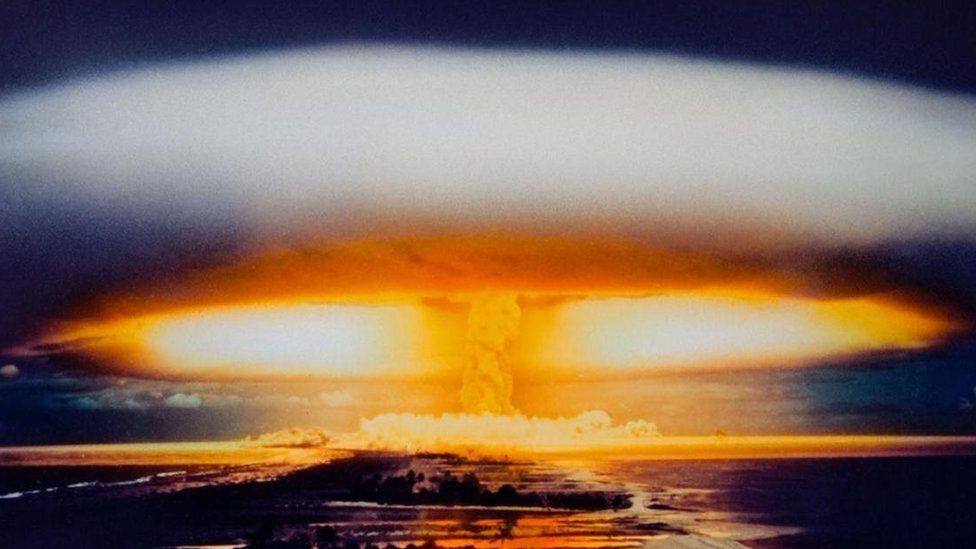 A bomba atômica soviética poderosa demais para ser lançada duas vezes
