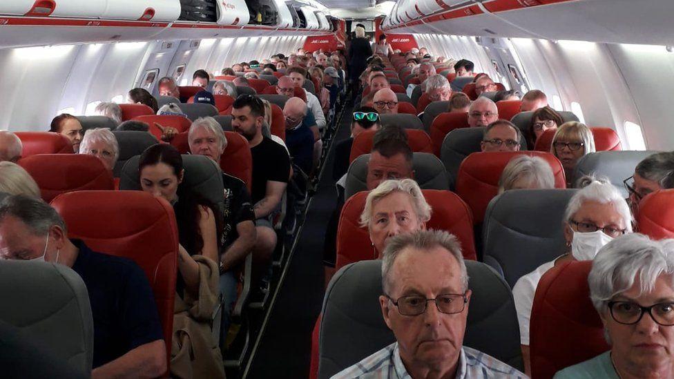 Flight awaiting take off