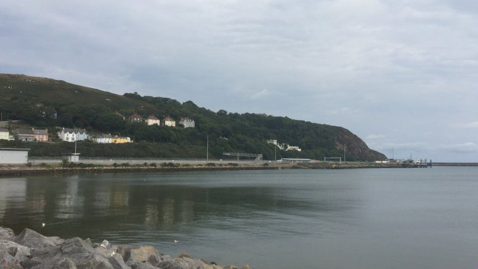 A picture of Fishguard Harbour