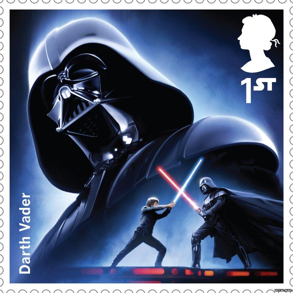 Darth Vader stamp