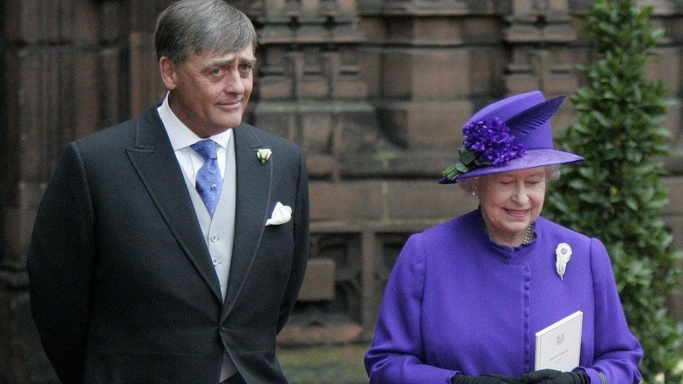 The Duke of Westminster and the Queen