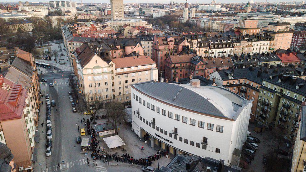 Igreja Filadélfia, em Estocolmo