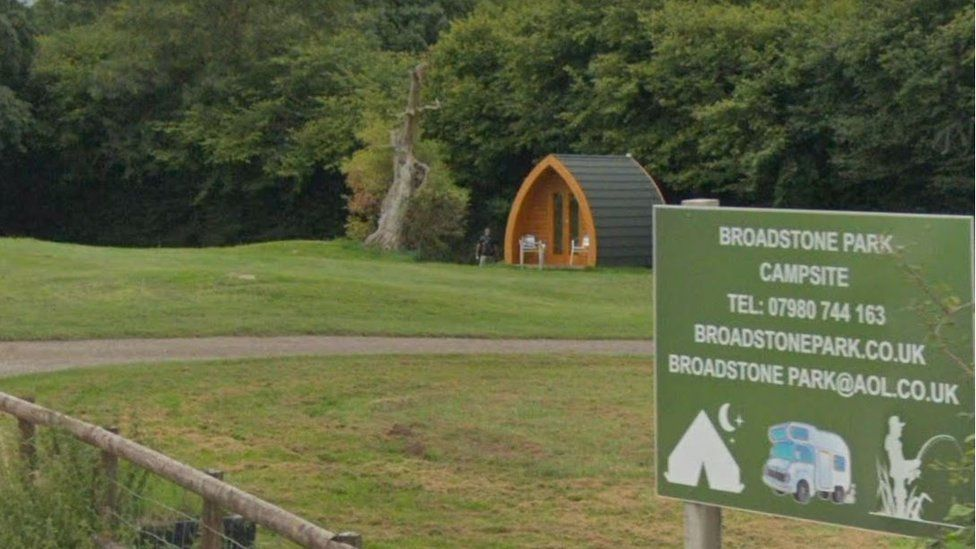 Broadstone Park, near Coleford, in Gloucestershire