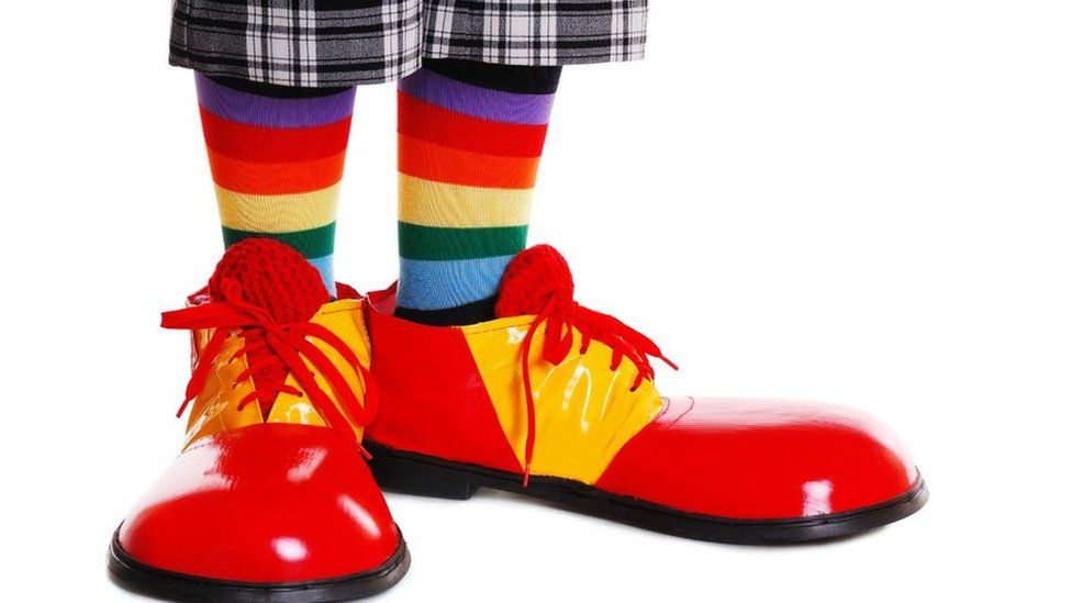 Clown stock pic