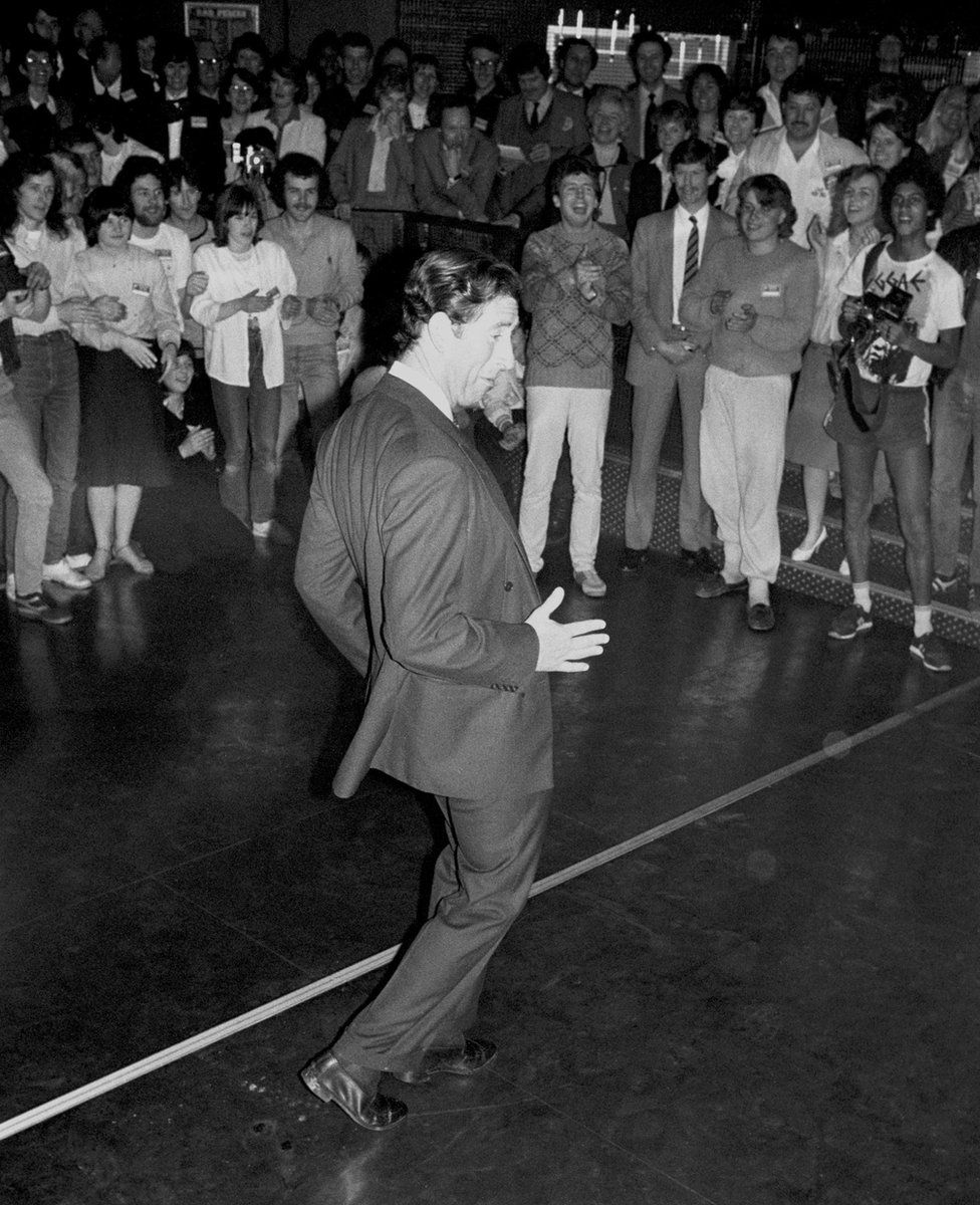 Charles dancing
