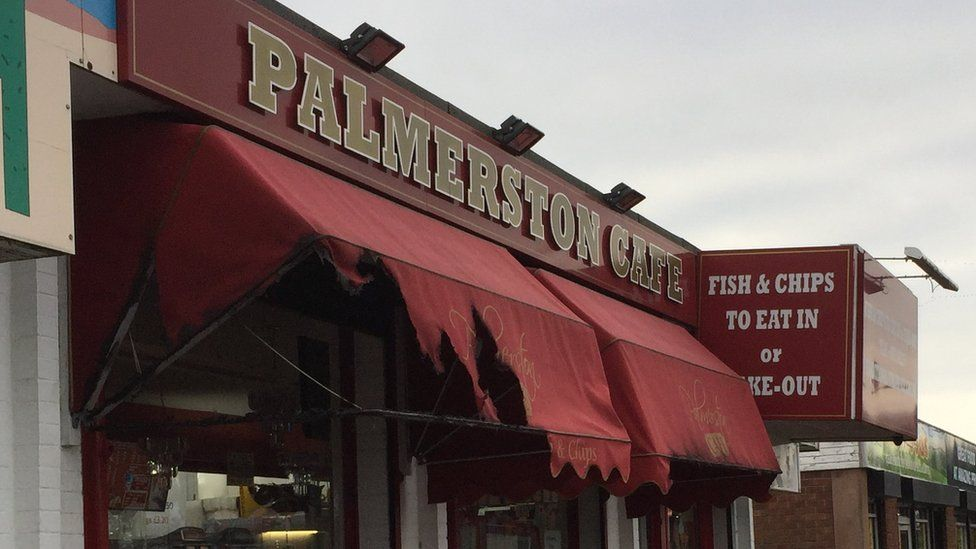 Palmerston Cafe sign
