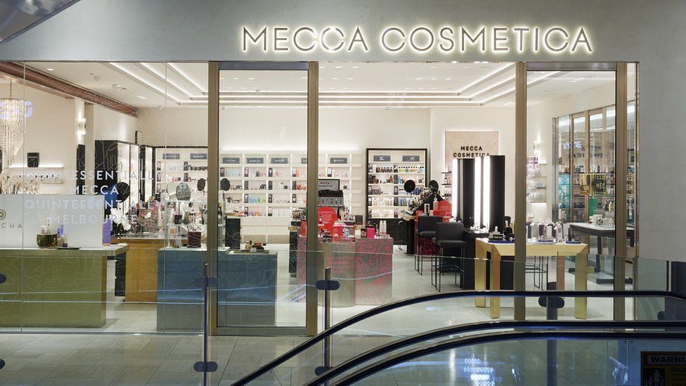 Exterior of a Mecca store