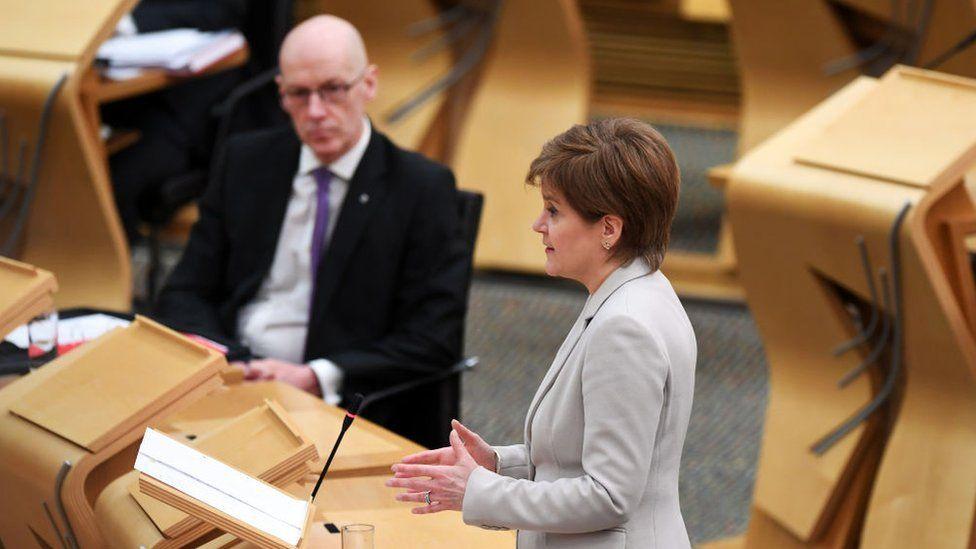 Swinney and Sturgeon