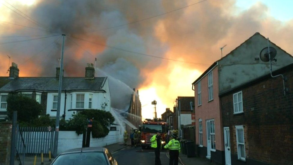 Great Yarmouth fire