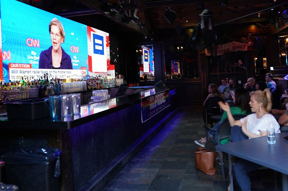 Watch party in West Hollywood