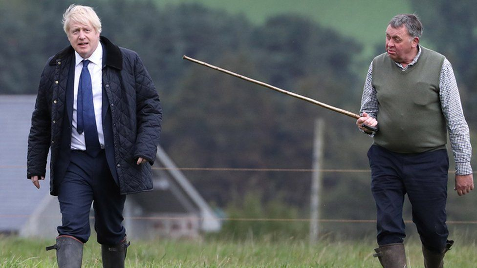 Boris Johnson in Aberdeenshire