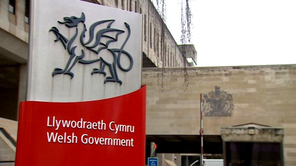 Welsh Government HQ in Cardiff