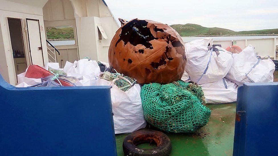 Summer Isles rubbish