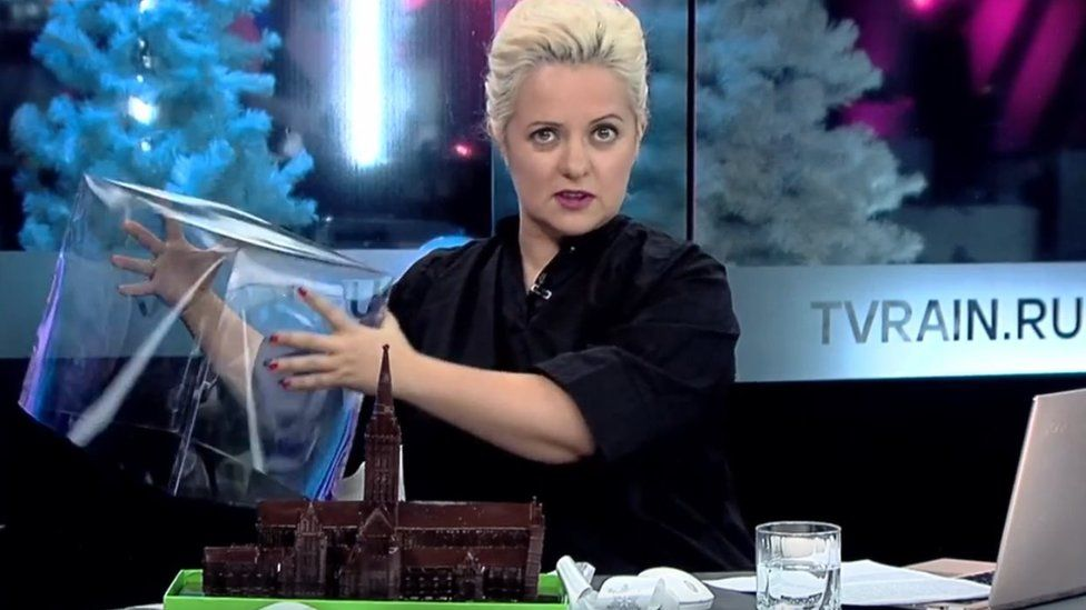 Chocolate cathedral on tvrain.ru
