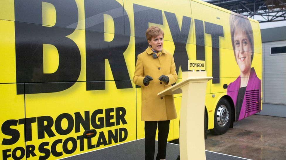 General election 2019: Sturgeon says legal indyref2 is a 'hard truth'