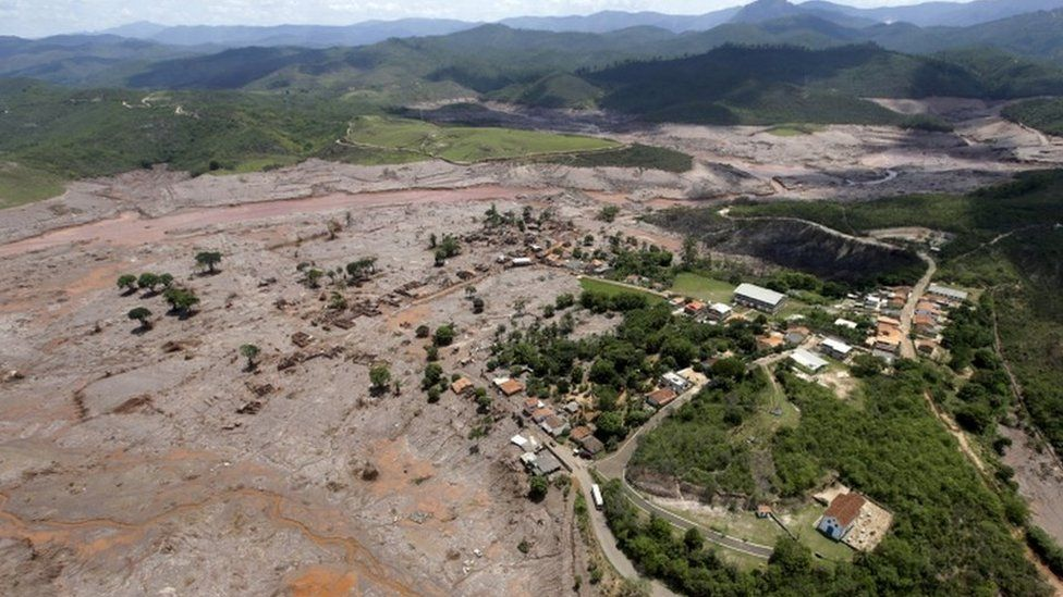 Village of Bento Rodrigues, Minas Gerais, Brazil, 19 Nov 2015