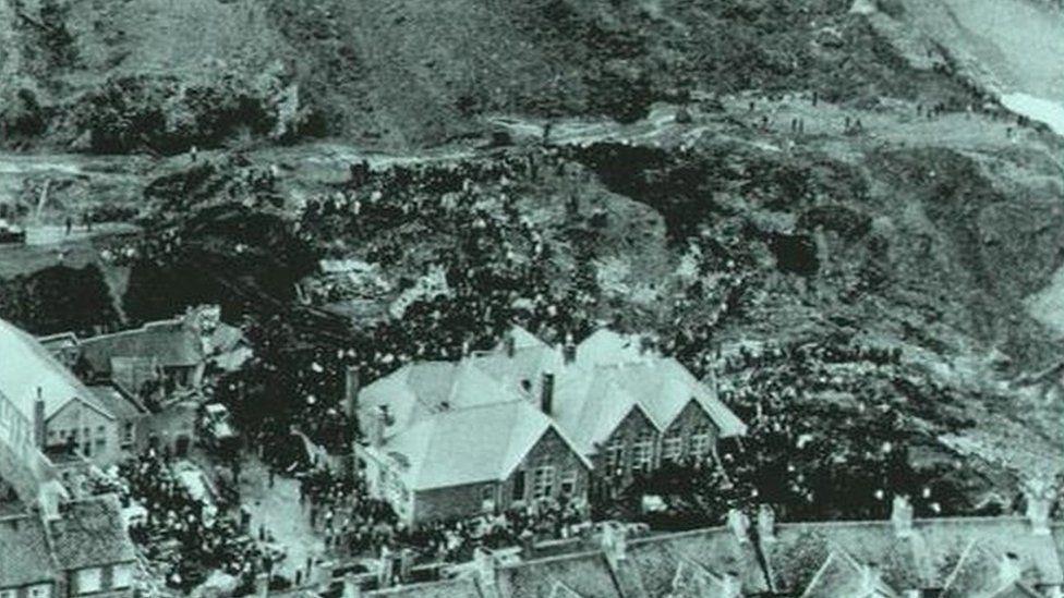 The school at Aberfan