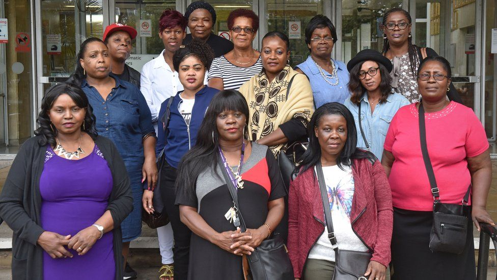 Fourteen of the care workers involved in the employment tribunal against Sevacare