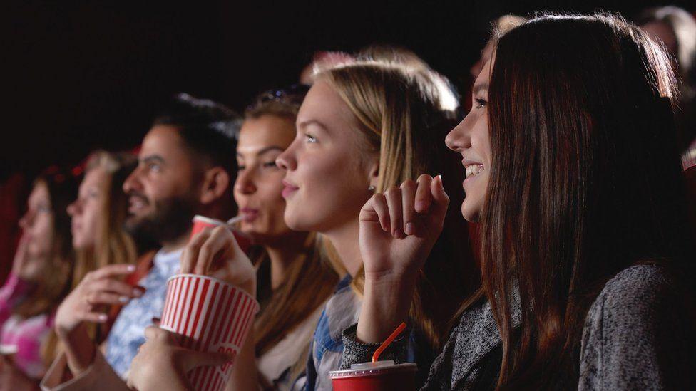 A cinema audience
