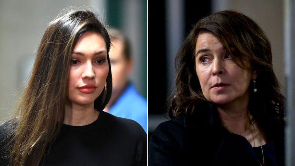 Composite image of Jessica Mann and Anabella Sciorra