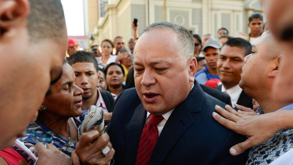 Venezuelan politician Diosdado Cabello