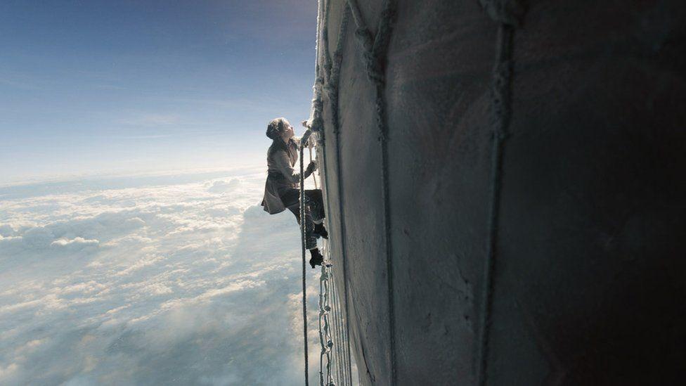 Film still from The Aeronauts