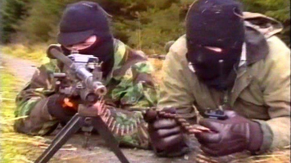 IRA propaganda video
