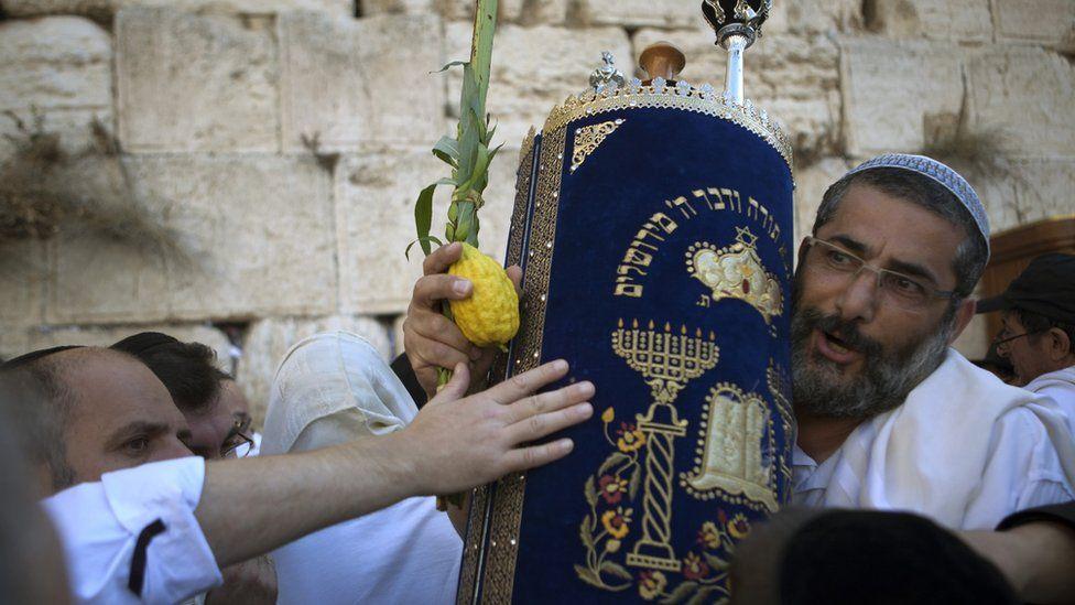 Jewish ceremony in Jerusalem