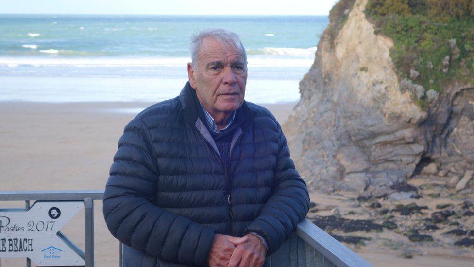 Ian McCallum at Towan Beach