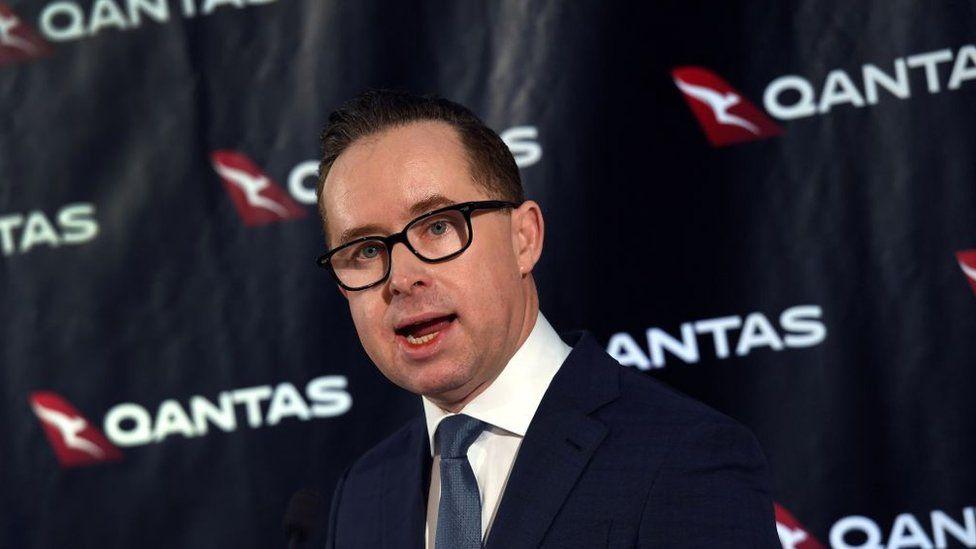 Qantas chief executive officer Alan Joyce