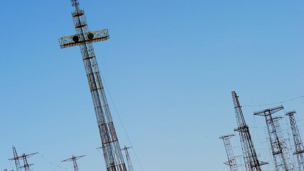 Vatican Radio masts