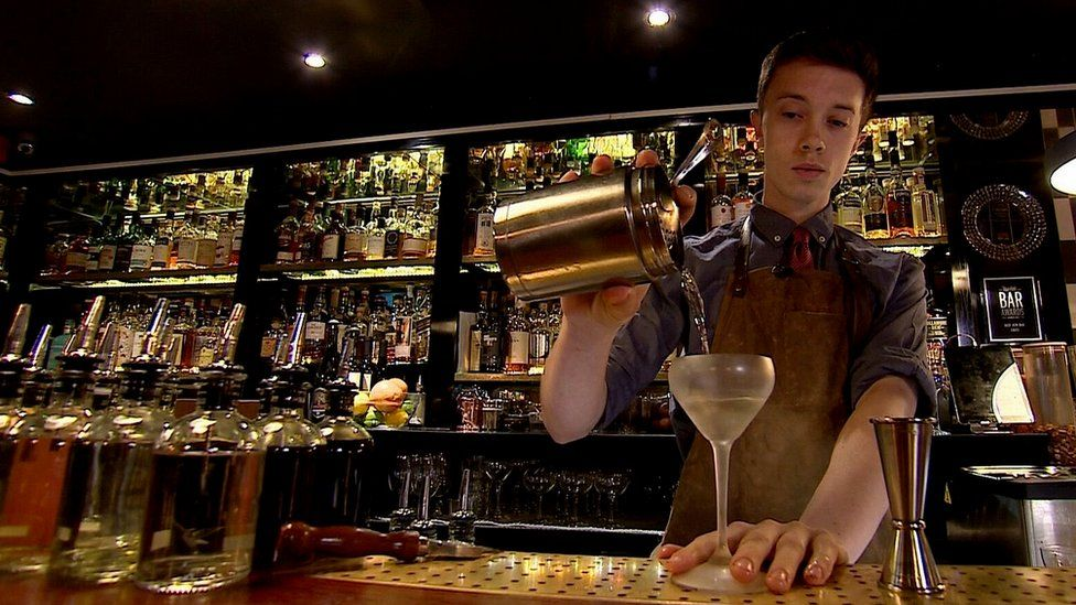 Cocktail-making with Chernobyl vodka at Bar Swift in London