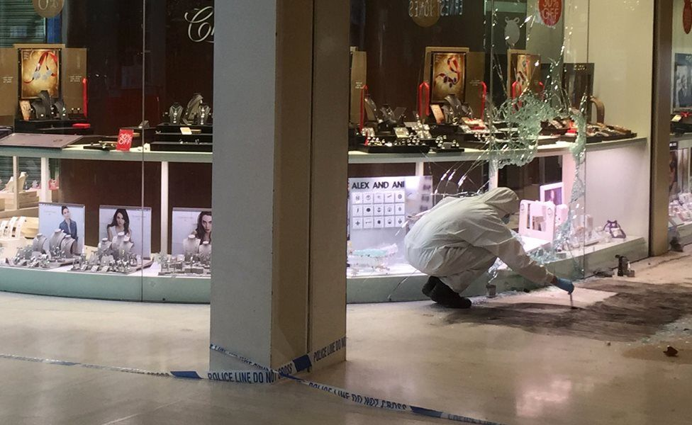 Forensic team at the Centre: MK