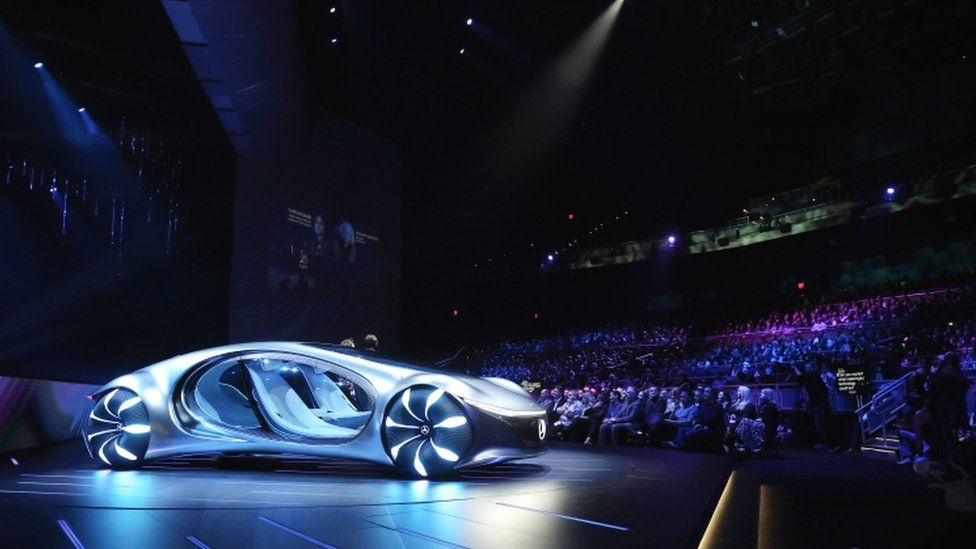 "The Mercedes Benz ""Avatar"" concept car"