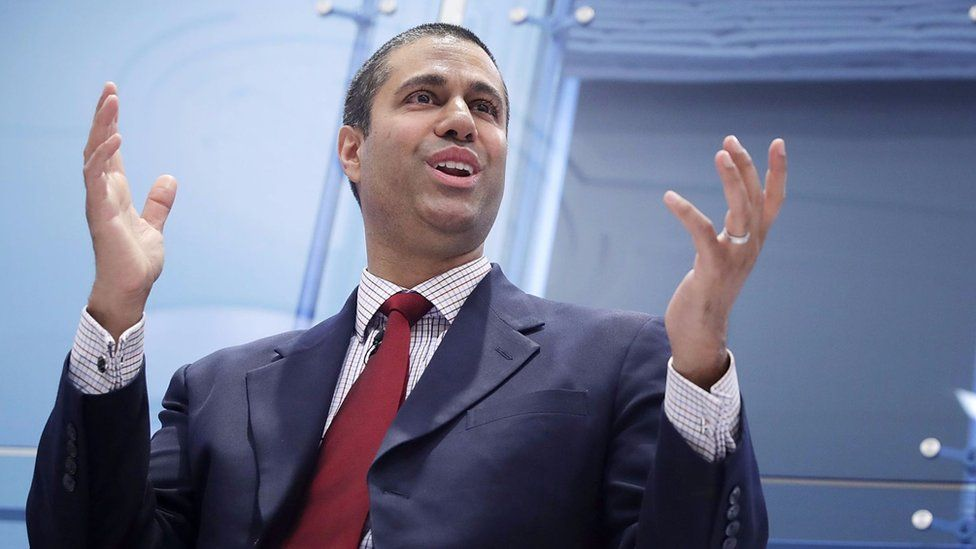 Ajit Pai was formerly a top lawyer at Verizon