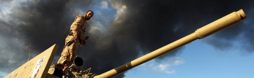 forces battling islamists in Benghazi