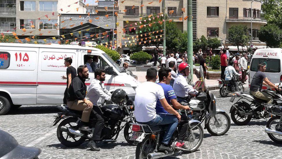 Iran celebrities 'using ambulances to skip Tehran traffic jams'