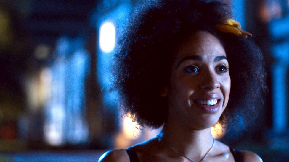 Pearl Mackie in Doctor Who